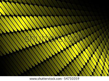 Techno vector lighted squared surface - stock vector