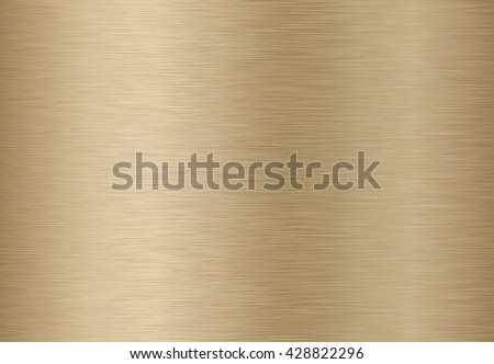 Technology background with golden, bronze, brushed metal texture. EPS 10 contains transparency. - stock vector