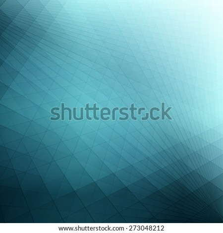 Technology concept abstract turquoise blue futuristic background - stock vector