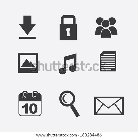 technology design over  white background vector illustration