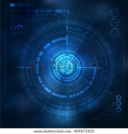 Technology element. Technological background with technological elements. techno illustration