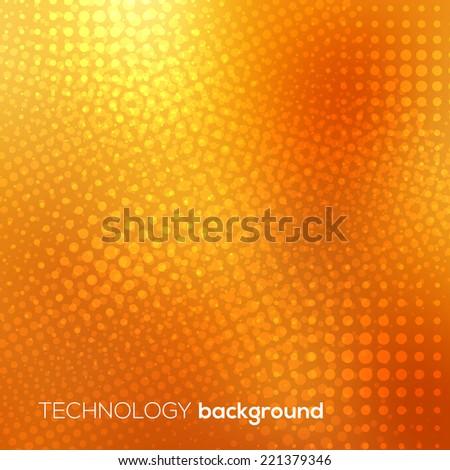 Technology futuristic digital background, Vector illustration - stock vector