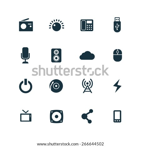 technology Icons Vector set