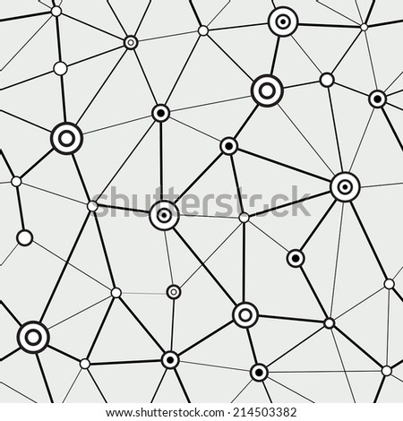 technology seamless pattern - stock vector