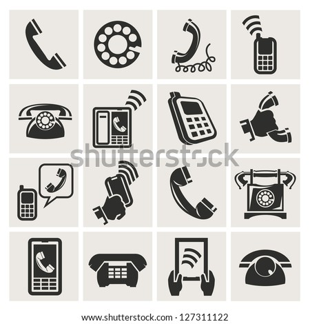 telecommunication - stock vector
