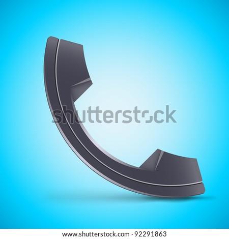 Telephone - stock vector