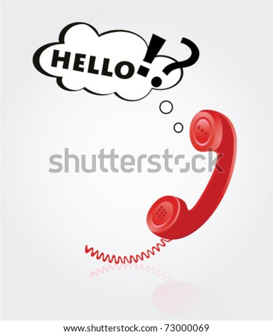 Telephone Babells - stock vector