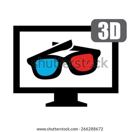 television screen design,vector illustration eps10 graphic - stock vector