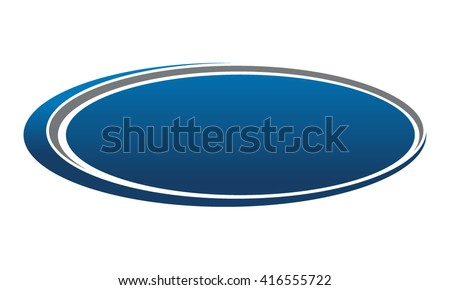 Oval shape stock images royalty free images vectors shutterstock template emblem blank pronofoot35fo Images