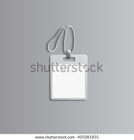 Template Advertising Branding Corporate Identityplastic Id Stock ...