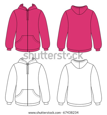 sweater template sweatshirt template stock