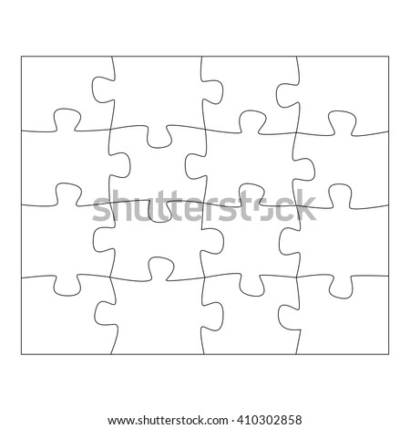 Template paper thinking puzzles games business stock vector template paper for thinking puzzles games business concept infographics puzzle pieces and jigsaw puzzle wajeb Choice Image