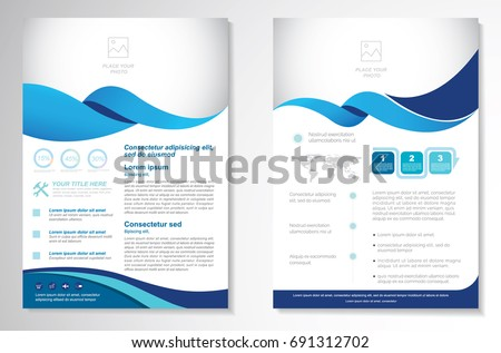 Handout stock images royalty free images vectors shutterstock template vector design for brochure annual report magazine poster corporate presentation pronofoot35fo Choice Image