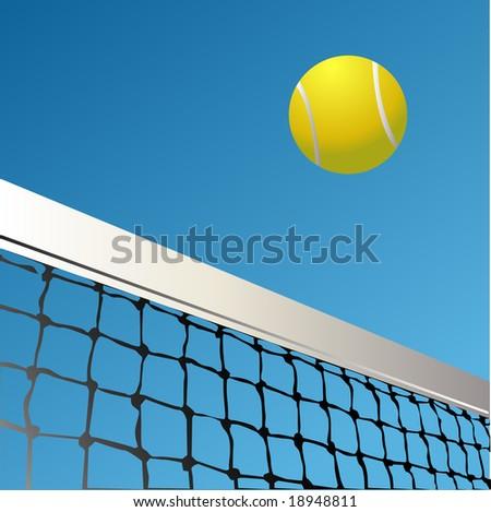 Tennis - stock vector