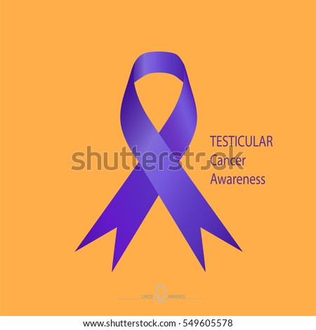Testicular cancer ribbons