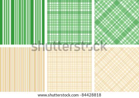 textile texture collection - stock vector