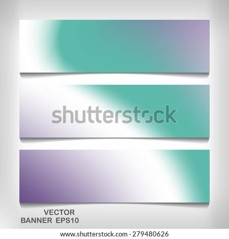 Texture banner for your design eps 10, vector elegant illustration - stock vector