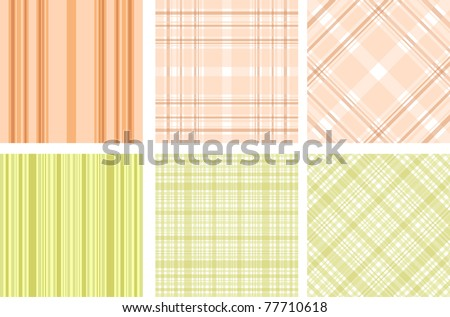 texture design set - stock vector