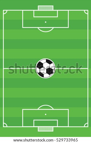 Texture grass football field soccer field stock vector 529733965 texture grass football field soccer field template maxwellsz