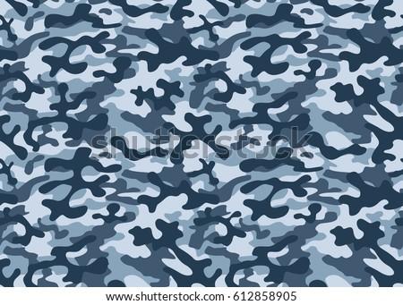Texture military camouflage repeats seamless army stock vector texture military camouflage repeats seamless army blue hunting toneelgroepblik Choice Image