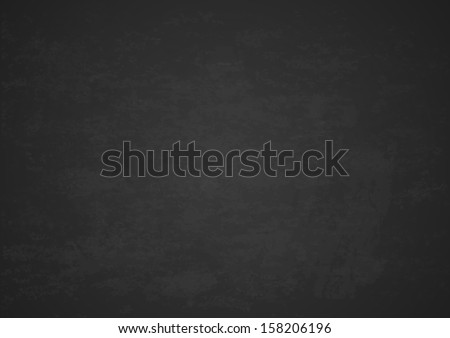 Texture of black chalk board, EPS 10 contains transparency. - stock vector