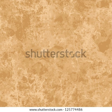 Texture of old paper sheet seamless - stock vector