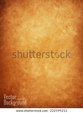 textured vintage paper vector background - stock vector