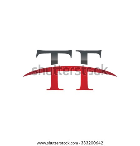TF initial company red swoosh logo