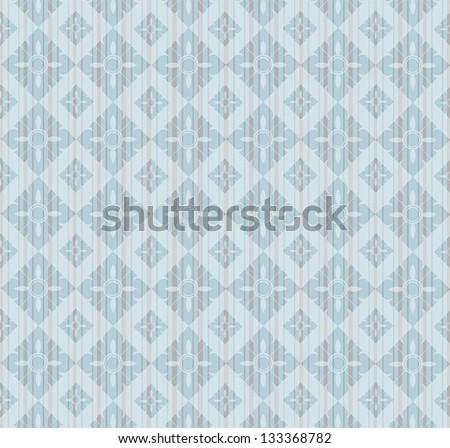 Thai painting pattern - stock vector