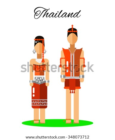 Thailand culture woman man traditional thailand stock for Www traditionalhome com