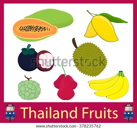 Thailand Fruits