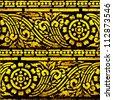 Thailand Lanna pattern : EPS.10 illustration vector - stock vector