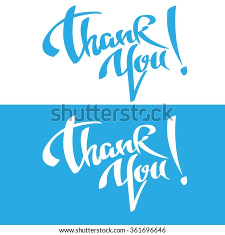 Thank you, thank, thank you letter, thank you card, thank you message, thank you note, thank you banner, thank you background, thank you sign, vector  - stock vector