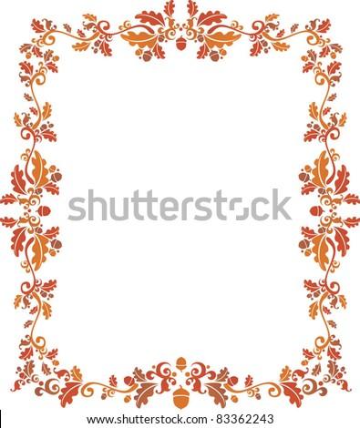 Thanksgiving Frame Stock Photo (Photo, Vector, Illustration ...