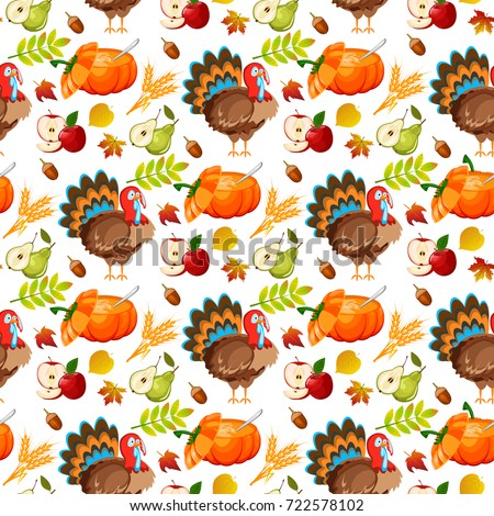 Thanksgiving Pattern Stock Images, Royalty-Free Images ...