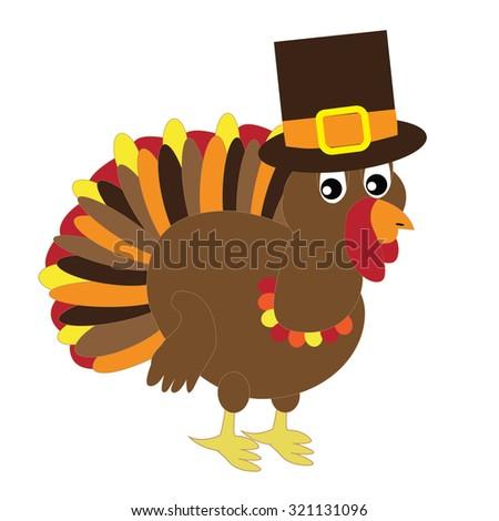 Thanksgiving Turkey - stock vector