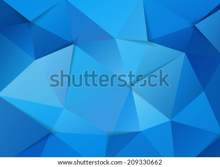 The abstract geometric triangle background. Vector illustration. - stock vector