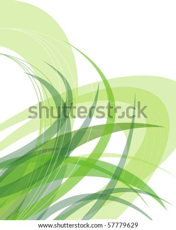 The abstract grass