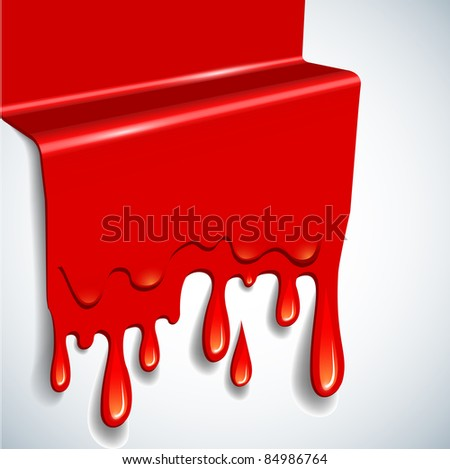 the abstract vector blood background - stock vector
