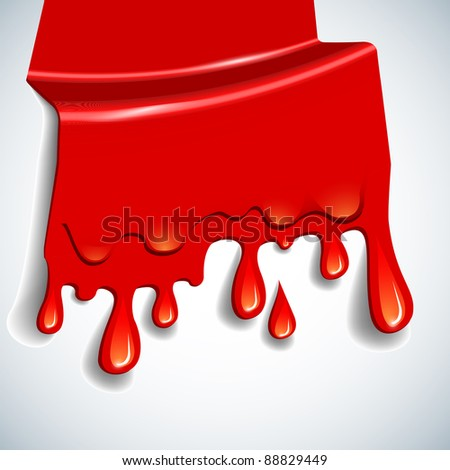 the abstract vector blood background eps 10 - stock vector