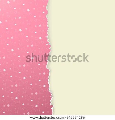 The abstract Xmas background / The Christmas background / The tattered xmas paper  - stock vector