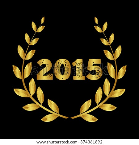 The award for 2015. Laurel wreath