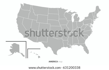 Best USA United State America Country Stock Vector (Royalty Free ...