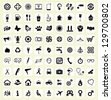 The big icon set - stock vector