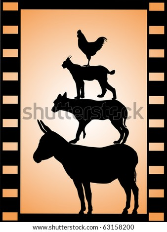 Soldier Film Strip Stock Vector 61721287 - Shutterstock