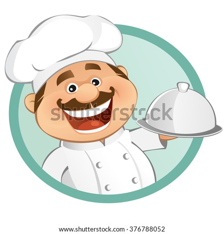 The Chef - stock vector