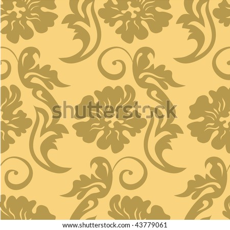 The classic pattern - stock vector