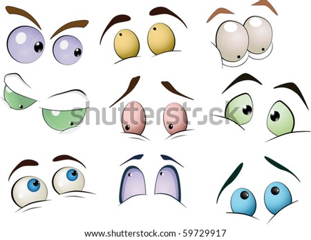 Cartoon Eyeball Stock Images, Royalty-Free Images ...