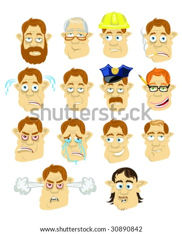 The Dad Collection - Number 2 - Vector Illustration - stock vector
