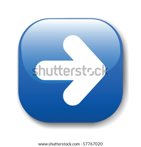 The dark blue button for a site web. A vector illustration, it is easy to edit and change. - stock vector
